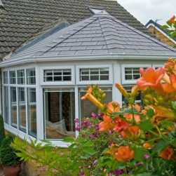 Victorian Conservatory Grey Slate Roof Special Fx