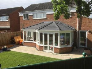 P Shaped Replacement Conservatory Roof