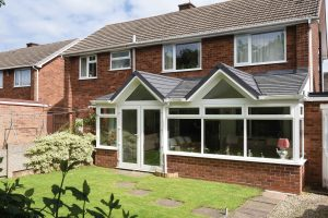 Gable Front Replacement Conservatory Roof