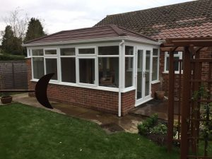 Double Hipped Replacement Conservatory Roof