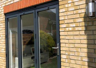 Aluminium-Bi-Fold-Doors-Anthracite-Grey-Open-Out-SpecialFX-Double-Glazing-Benfleet-Essex-1
