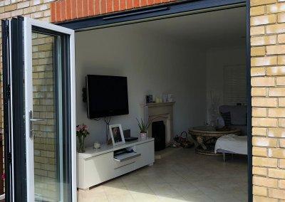Aluminium-Bi-Fold-Doors-Anthracite-Grey-Open-Out-SpecialFX-Double-Glazing-Benfleet-Essex-3