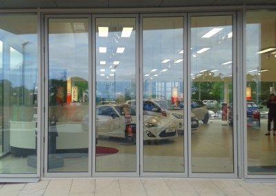 Aluminium-Bi-Folding-Doors-Grey-Benfleet-Essex-SpecialFX-Double-Glazing