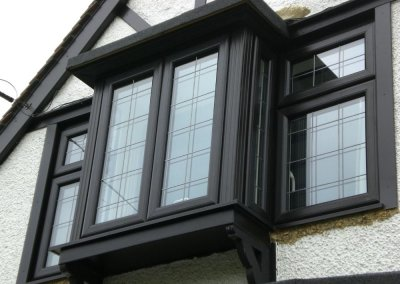 Double Glazing-Ideal 70-Black Bay Window-Essex-Special FX Double Glazing