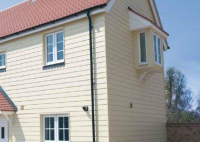 HardiePlank-Cedar-Woodland-Cream-SpecialFX-Double-Glazing-Benfleet-Essex