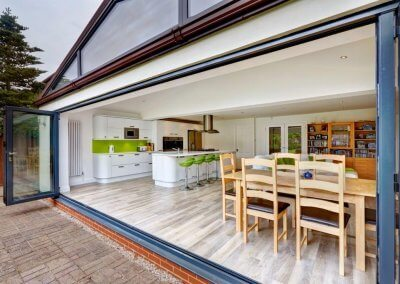 Sliding Doors on Extension